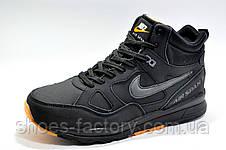 Зимние кроссовки в стиле Nike Air Span 2, Black\Orange, фото 2