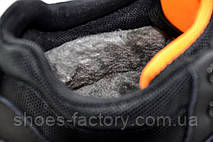 Зимние кроссовки в стиле Nike Air Span 2, Black\Orange, фото 3