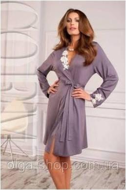 Халат женский домашний Coemi 151 C572 (женская одежда для сна f51df7ba56171