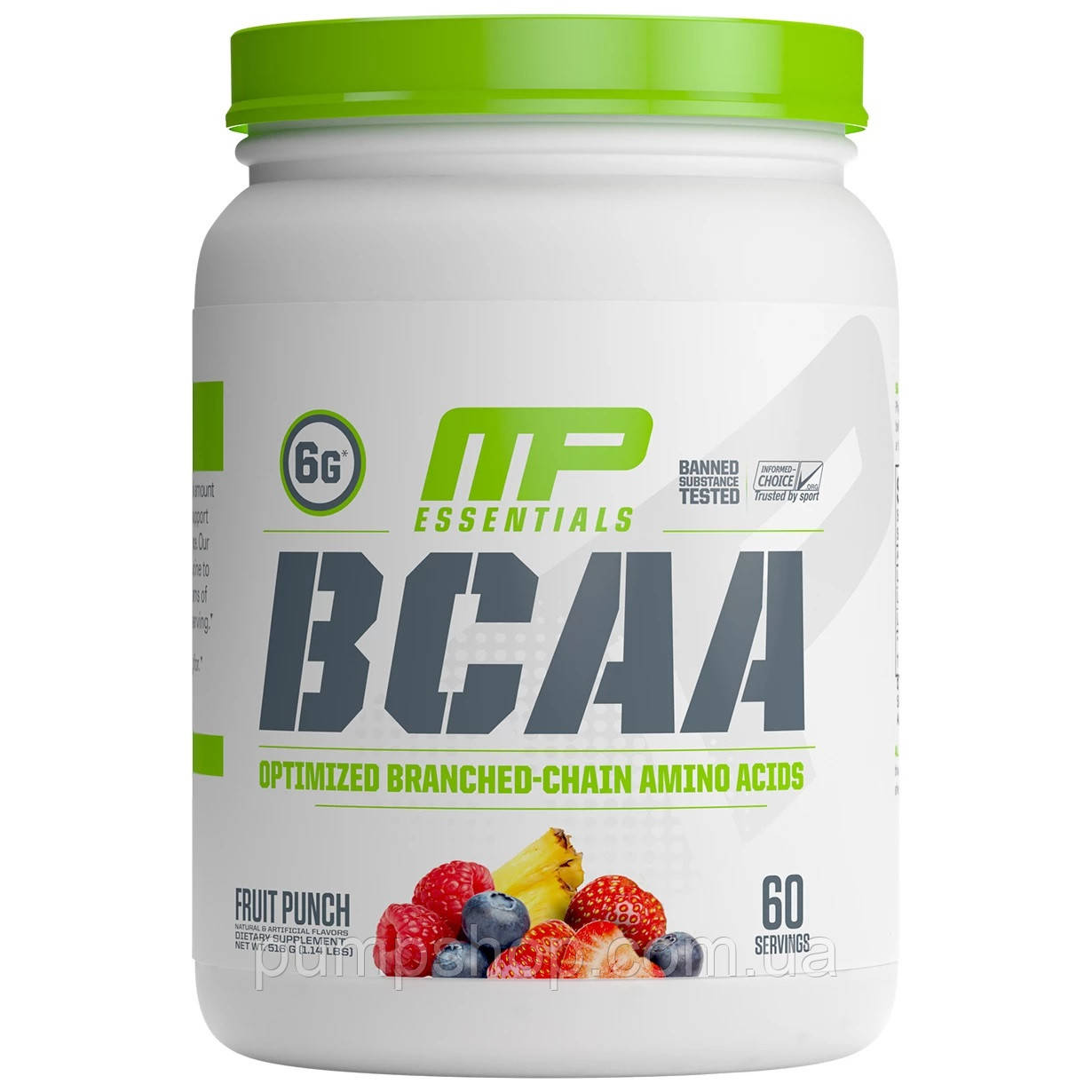 Аминокислоты БЦАА MusclePharm BCAA Essentials Powder 60 порц.