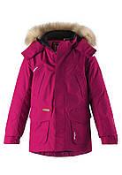 Зимняя куртка - пуховик для девочек Reimatec Ugra 531375-3690. Размеры 104-164. 158