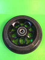 Алюминиевое колесо для трюкового самоката 100 мм с подшипниками ABEC - 9 черное