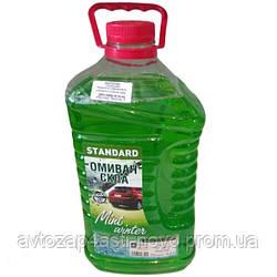 Омыватель стекла зимний -20 STANDARD Mint winter зеленый 4л ДК