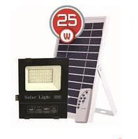 LED прожектор на солнечной батарее VARGO 25W 6500К