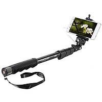 Монопод для телефона, фотоаппарата, экшн камеры YUNGTUNG YT-1188, селфи палка проводное подключение