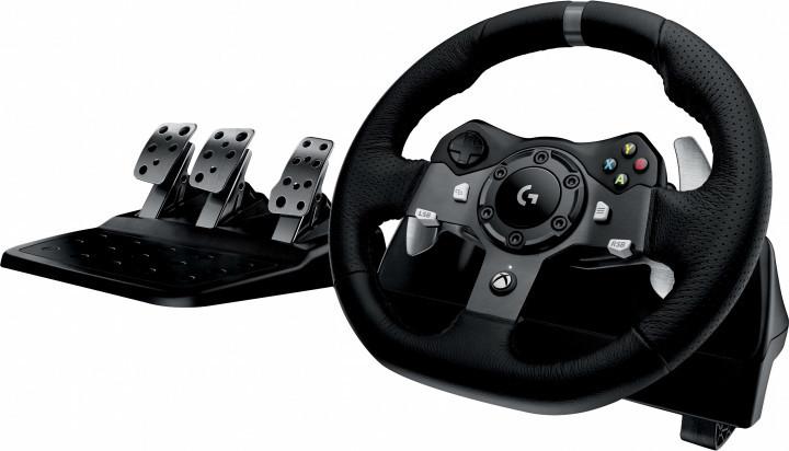 Игровой руль Logitech G920 Driving Force PC/Xbox One Black (941-000124)