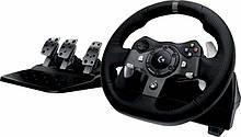 Ігровий руль Logitech G920 Driving Force PC/Xbox One Black (941-000124)