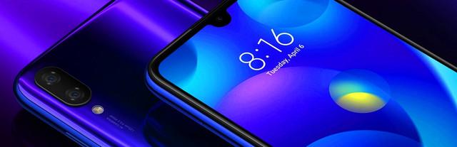 Смартфон Xiaomi Mi Play 4/64GB Black