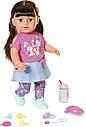 Беби Борн Интерактивная кукла Стильная сестренка Нежные объятия 43 см Baby Born Zapf 827185, фото 2