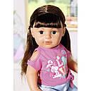 Беби Борн Интерактивная кукла Стильная сестренка Нежные объятия 43 см Baby Born Zapf 827185, фото 4