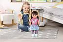 Беби Борн Интерактивная кукла Стильная сестренка Нежные объятия 43 см Baby Born Zapf 827185, фото 6