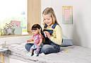 Беби Борн Интерактивная кукла Стильная сестренка Нежные объятия 43 см Baby Born Zapf 827185, фото 7