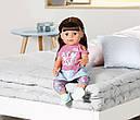 Беби Борн Интерактивная кукла Стильная сестренка Нежные объятия 43 см Baby Born Zapf 827185, фото 9
