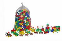 Конструктор Полесье строитель 348 элементов в пакете (52568)