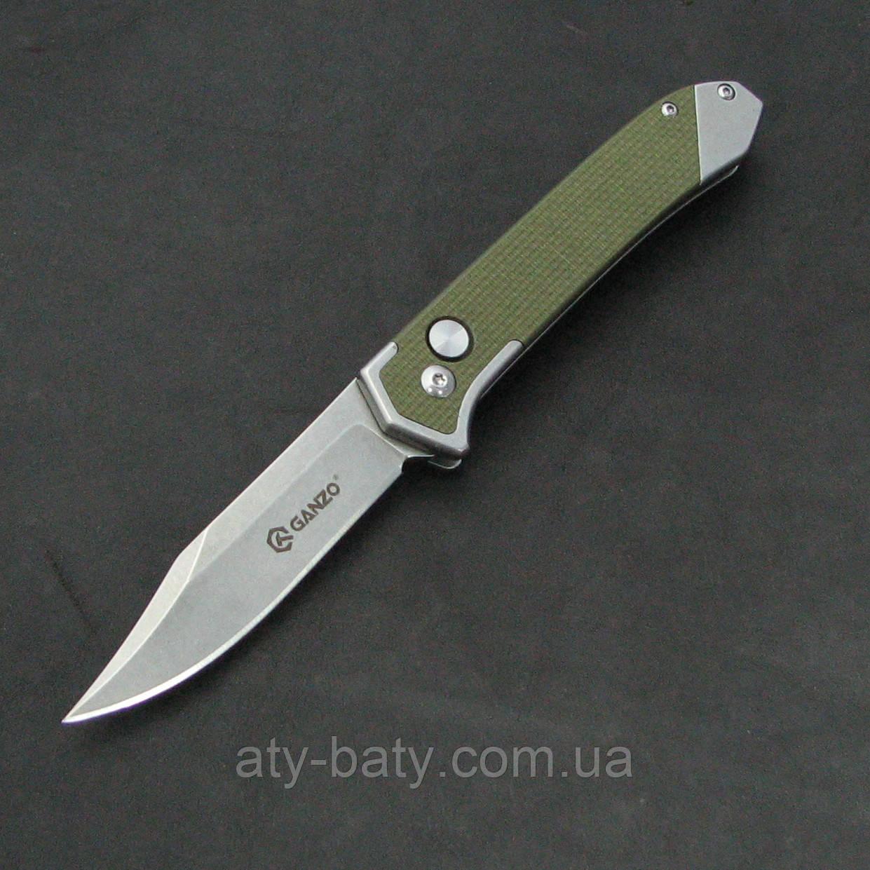 Нож Ganzo G719-G зеленый