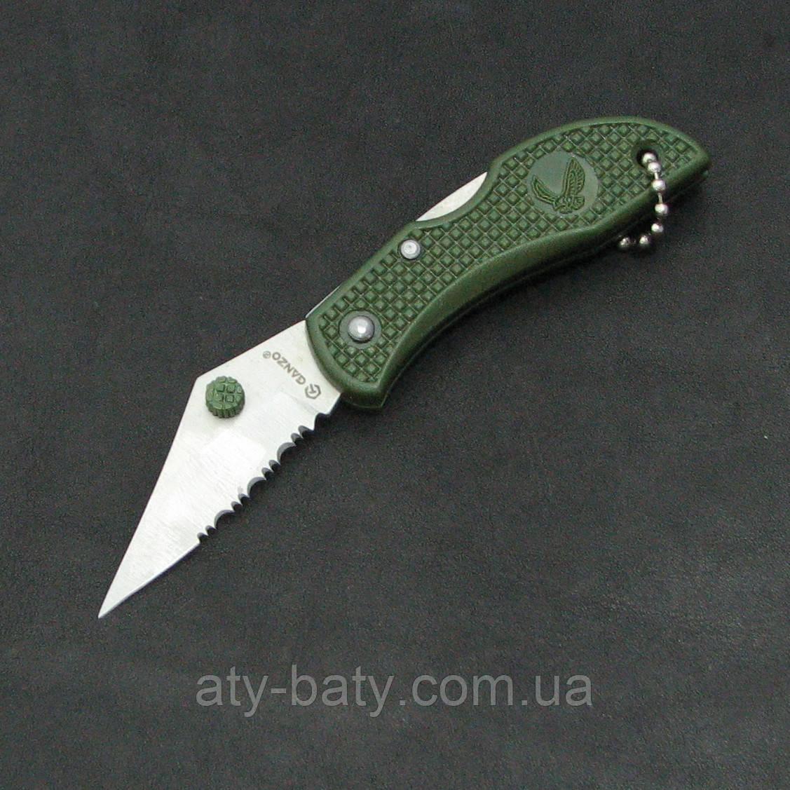 Нож Ganzo G623S зеленый