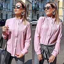 Прекрасная блуза со складками, фото 3
