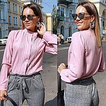Прекрасная блуза со складками, фото 2
