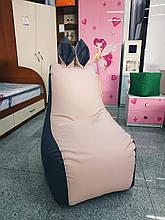 """Кресло """"Зайчик"""" (ткань Микровелюр) с дополнительным чехлом"""