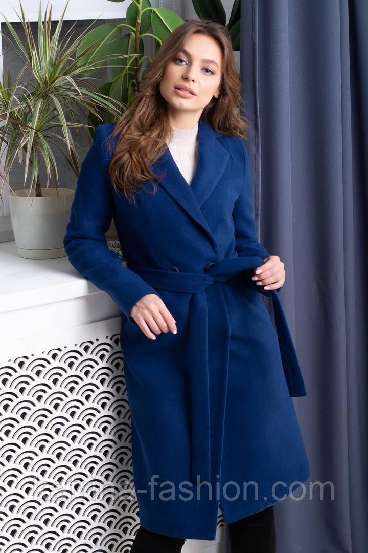 Женское длинное пальто из кашемира