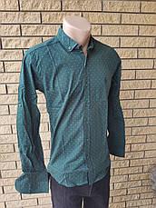 Рубашка мужская коттоновая  брендовая высокого качества  U.S. POLO, Турция, фото 3