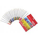 """Набір художніх кольорових олівців """"Santi Highly Pro"""", 24 шт, фото 2"""