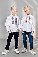 Детская национальная украинская вышиванка, фото 1