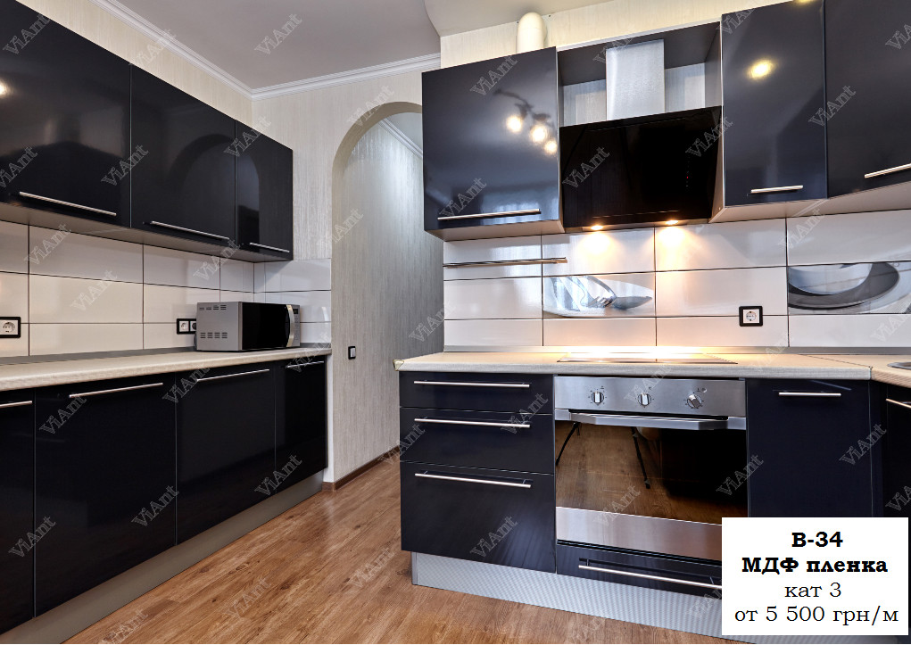 "Кухня ""B-34"" МДФ Пленка."