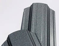 Штакет металлический 108 мм, 113 мм RAL 7024 матовый двухсторонний