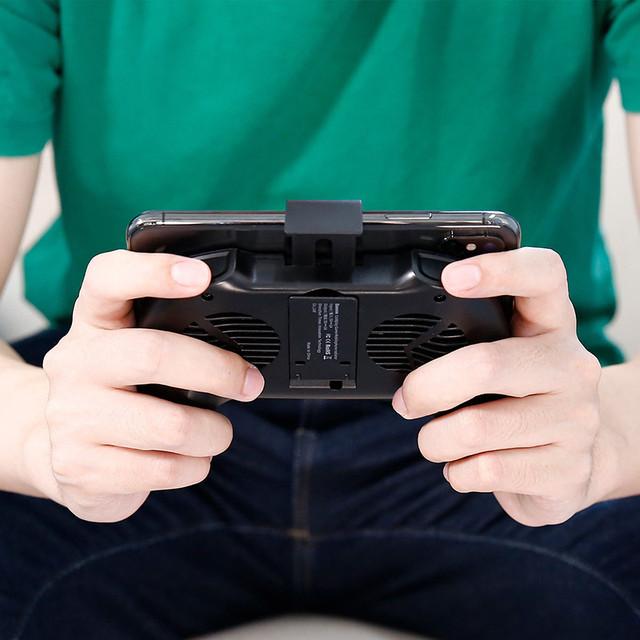 Держатель-джойстик для телефона Baseus Cool Play Games Black