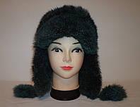 "Женская зимняя шапка-ушанка ""Кролик №2"""