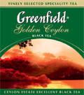"""Чай """"Грінфілд"""" 100п*2г Чорний Golden Ceylon М/У (1/12) 6432"""