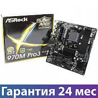 Материнская плата сокет AM3/AM3+ ASRock 970M Pro3