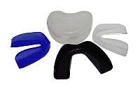 Капа одночелюстная (термопластик, синий, черный, пластиковый футляр)