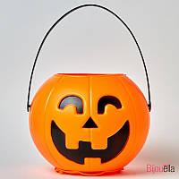 Веселая тыква Smille светящаяся и смеющаяся яркий декор для Хеллоуина, фото 1