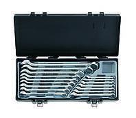 Набір ключів рожково-накидних Force 5161 (16 предметів)