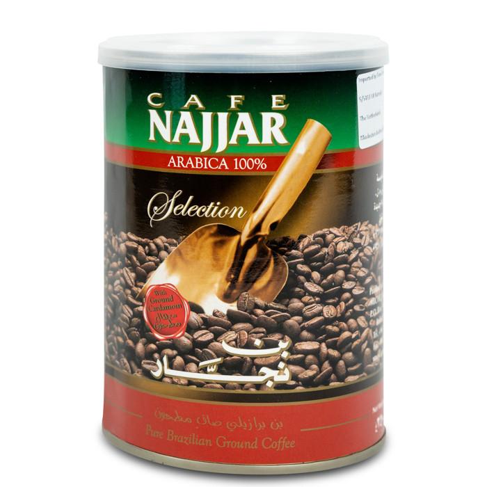 Кофе с кардамоном Najjar в банке 350 грамм
