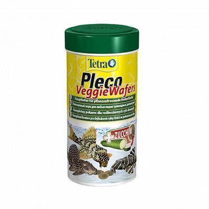 Корм Tetra PLECO Veggie Wafers для всех видов травоядных рыб 100мл