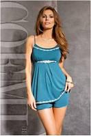 Пижама Coemi -  151 C608 (женская одежда для сна, дома и отдыха, элитная домашняя одежда, сорочка)