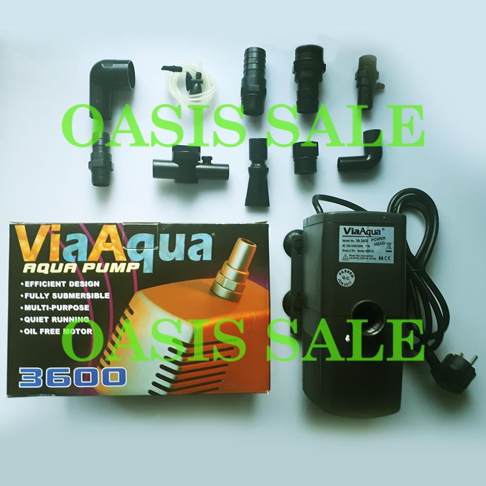 Насос для аквариума ViaAqua VA-3600