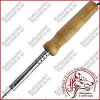 Паяльник 40 ватт с деревянной ручкой WD-40W, 220V
