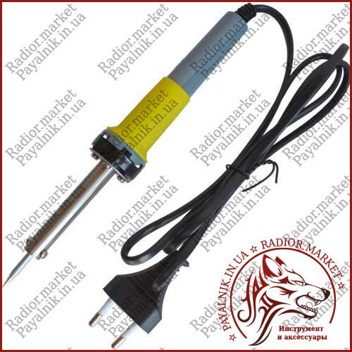 Паяльник ZD-200В, 25W, 220V, нихромовый нагреватель, евровилка