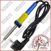 Паяльник ZD-200C, 25W, 220V, нихромовый нагреватель, евровилка, Zhongdi