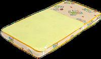"""Непромокаемая пеленка-наматрасник """"2в1"""" Classic ТМ Эко-Пупс, 60х80 см  1, Желтый, фото 1"""