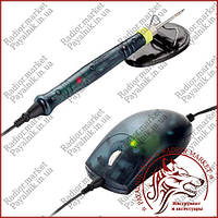 Паяльник ZD-20F (миша, підставка, наконечник), 10W, 220V