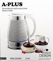 Керамический электрочайник A-Plus AP-2147