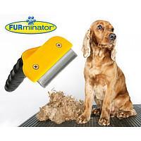 Фурминатор расческа лезвие 4,5 см для расчесывания домашних животных Furminator DeShedding Tool Brush