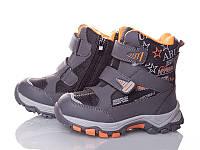 Сапоги Термосапоги Сноубутсы Зима на Мальчика тм Ok-Shoes 27-32 р, фото 1