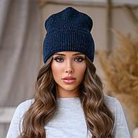 Женская шапка с люрексом, фото 1