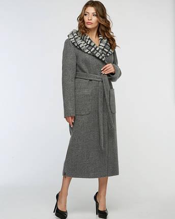 Женское пальто зимнее макси, фото 2